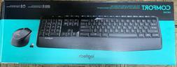 Logitech MK345 Wireless Combo Keyboard and Optical Mouse - B