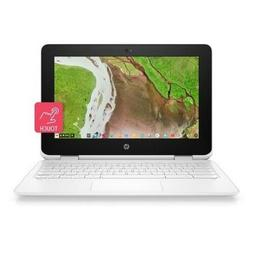 New HP 11-ae131nr X360 2-in-1 11.6'' Touchscreen Chromebook