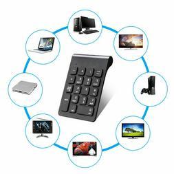 New 18 Keys 2.4GHz Wireless USB Number Pad Numeric Keypad Ke