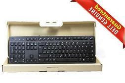 New Dell French Canadian Slim USB Wired Black Keyboard KB216