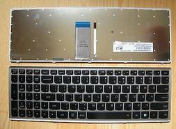 New genuine Lenovo Ideapad  Z710 backlit keyboard w/ frame