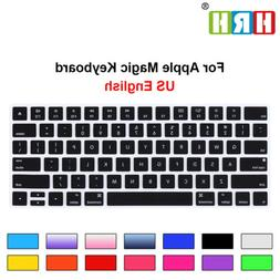 US Keyboard Cover Silicone Protector For Apple Magic Keyboar