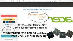 Acer Nitro 5 AN515-41 AN515-42 AN515-51 AN515-52 US KeyBoard