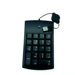 Numeric # Keypad Number 18 Keys Pad Keyboard W/ Retractable