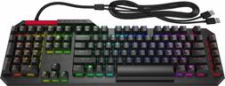 HP - OMEN by HP Sequencer Wired Gaming Optical-Mechanical Bl