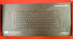 Tecware Phantom 87 Key Mechanical Keyboard RGB led Outemu Bl