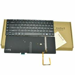 Eathtek Replacement Keyboard with Backlit without Frame 14""