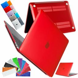 Rubberized Hard Laptop Case Keyboard Cover For Macbook Air 1