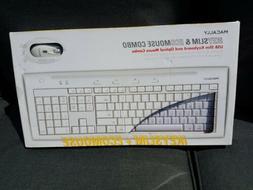 SEALED BNIB MACALLY iKEYSLIM USB Slim Keyboard IKEY5 & ECOMo