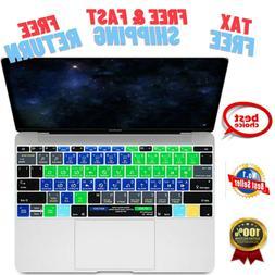 Silicone Keyboard Cover Skin Serato DJ Hotkey Functional Mac