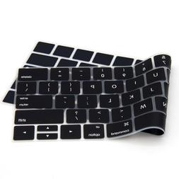 Soft Silicone Keyboard Cover Skin for 2019-2016 MacBook Pro