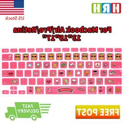 sweet awesome cartoon keyboard cover silicone skin
