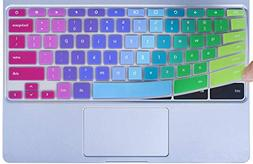 Colorful Keyboard Cover for 2019/2018/2017 Samsung Chromeboo