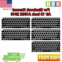 US Language Silicone Keyboard Protective Film For MacBook Ai