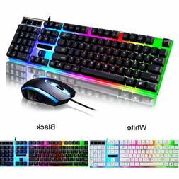 VicTsing Ergonomic LED Backlit USB Gaming Keyboard Wireless