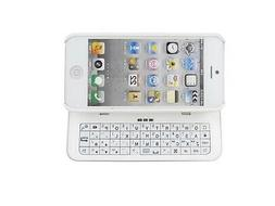 White Ultra-thin Back-light Wireless Bluetooth 3.0 Keyboard
